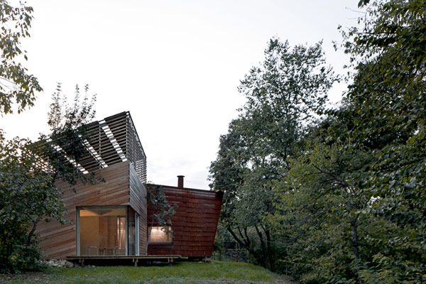 Experimental Zero Energy Building Nestled in The Hills of Italy: TVZEB