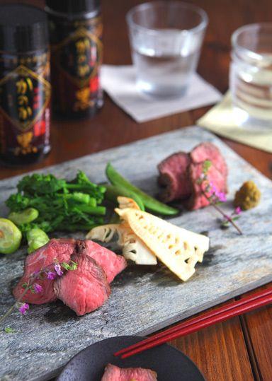 牛肉のたたき ~春野菜のグリル添え~ のレシピ・作り方 │ABCクッキングスタジオのレシピ | 料理教室・スクールならABCクッキングスタジオ