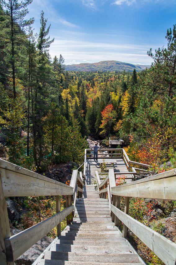 L'automne au parc régional de la Chute-à-Bull, Saint-Côme. Photo: @forgetphoto