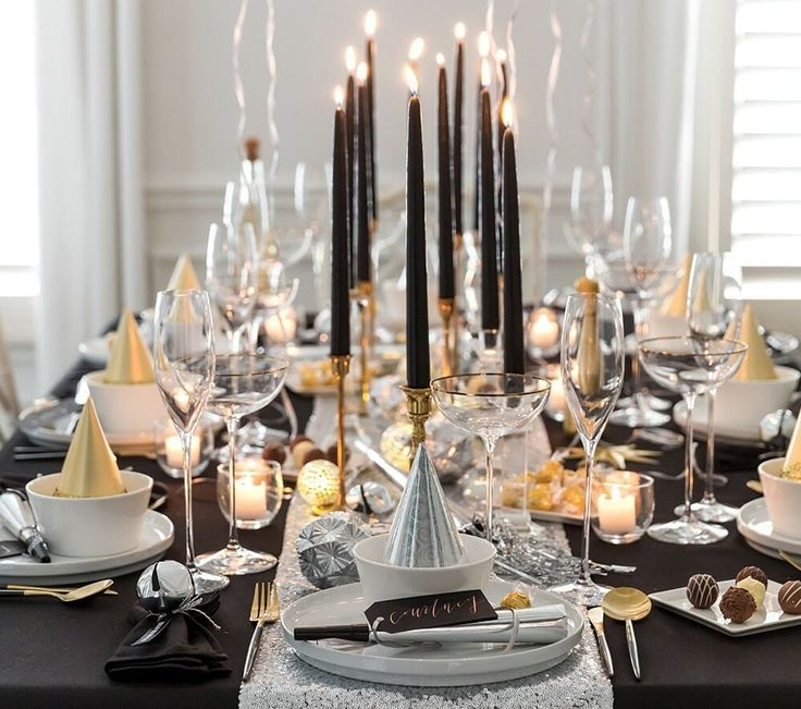 New Year's Eve Home Decorating Ideas Perfect For 2020