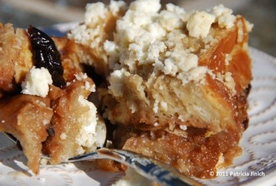 Capirotada~ Mexican dessert traditionally made for lent tastes like a cross between French Toast and Bread Pudding