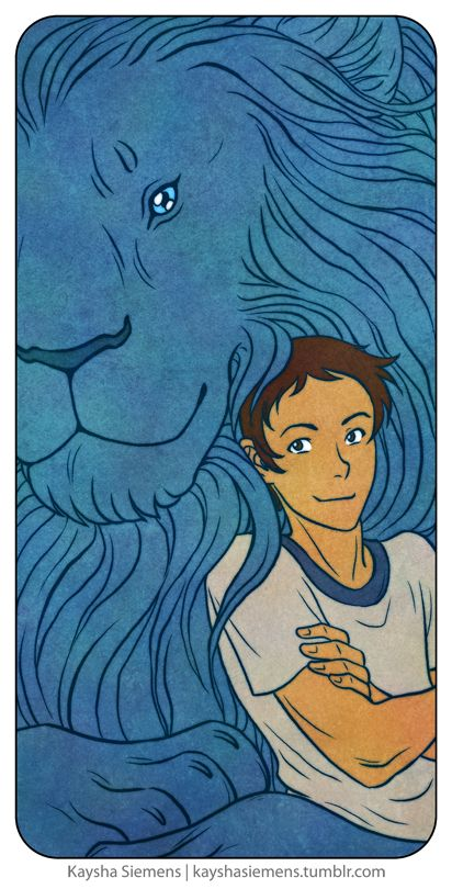 Lance and his Blue Lion from Voltron Legendary Defender