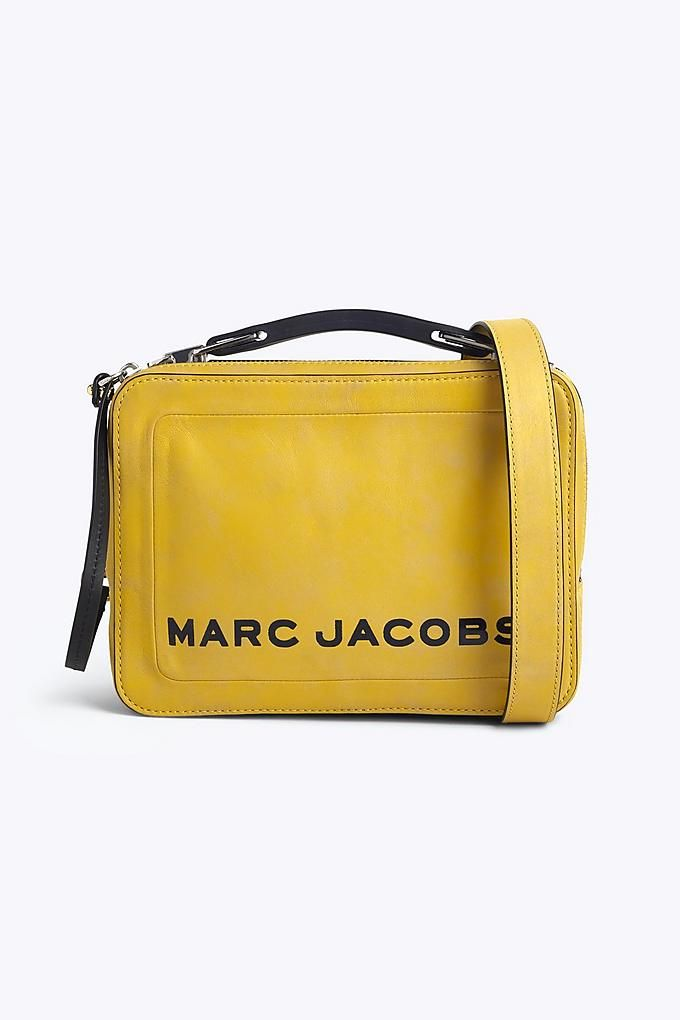 37a058e2335d Marc Jacobs Box Bag in Yellow