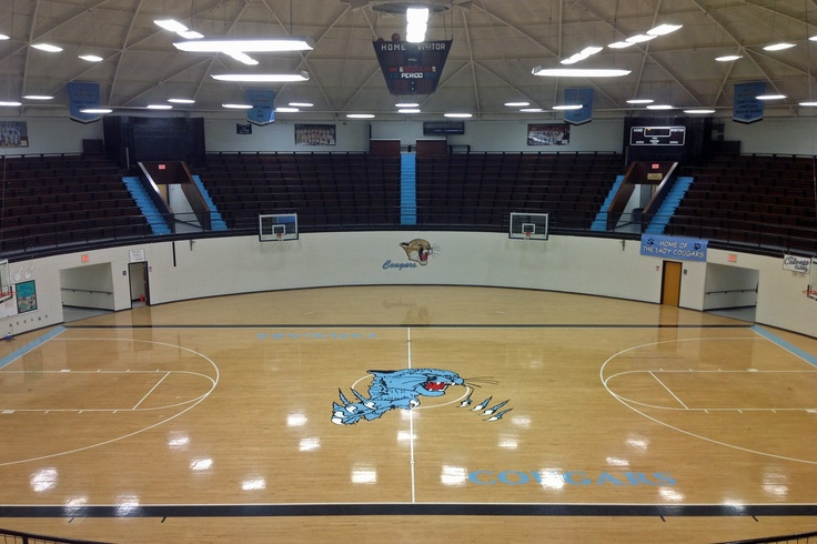 In tsoa the gym should look alittle something like this