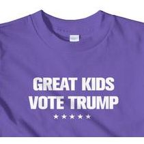 """Great Kids Vote Trump"" T-Shirt"