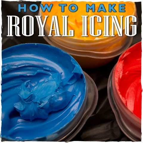 This is my favorite royal icing recipe. It doesn't dry rock hard but is still sturdy enough for stacking and shipping! by @Janine (sugarkissed.net)