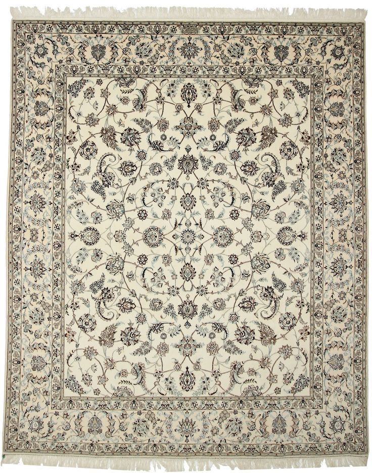 Hand Knotted Oriental Rug Nain 300x250 Cm