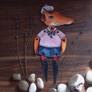 #Бумажныекуклы #домнаколесах, #подарки #акварельки  #акварель #watercolor  #fox #лисичка  #лиса #лисы #модница #мода #кукла #бумажнаякукла #куклаизбумаги #paperdoll