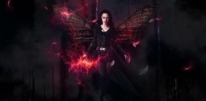 Photoshop-Tutorial: Der dunkle Engel