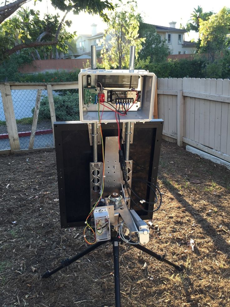 This project is an Open Source 2-axis solar tracker, designed to provide the optimal amount of power output for a portable setup.  This has wide-ranging uses from camping to developing countries.  My goal is to develop a combination of Open Source software and hardware to enable Makers globally to make and improve the design.   Problem: In too many places, the only way to generate electricity is through fossil fuels.  This means that the users are subject to the limitations and the…