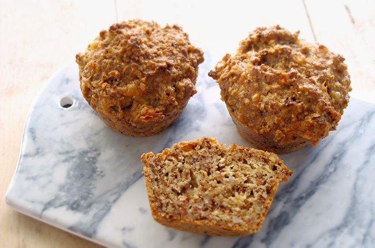 Low FODMAP / Low Carb Muffins of nuts Nøtterundstykker