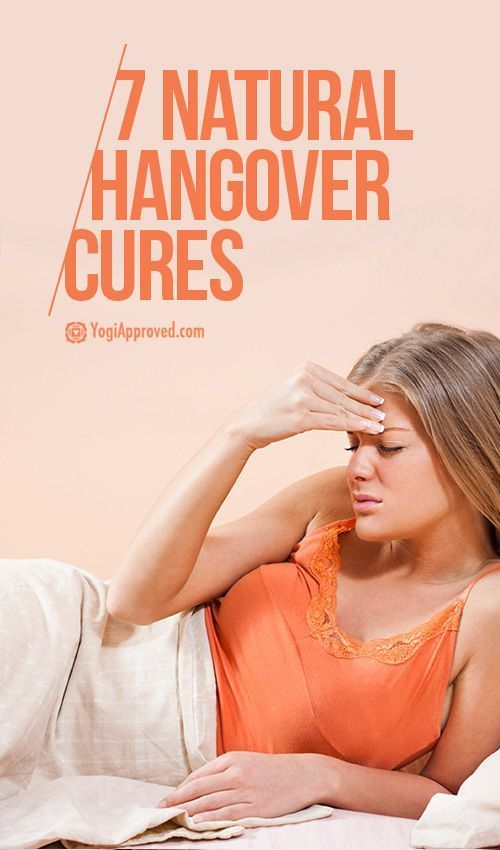 7 Natural Hangover Cures