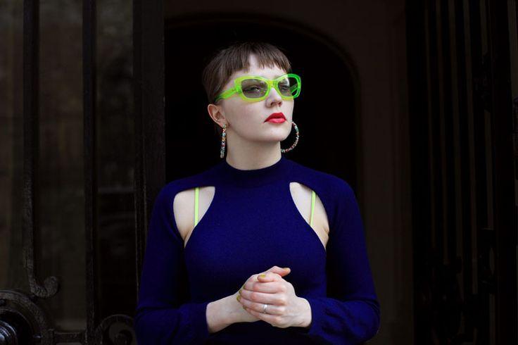"""Fashion Icon: Lotta Volkova. Dalle periferie russe si è fatta strada fino alla fashion industry francese, lavorando per #Vetements e #Balenciaga. Lei, insieme ad altri, ha portato un gusto #underground sulle passerelle di alta moda. """"There Are No Subcultures Anymore. It's About The Remix."""""""