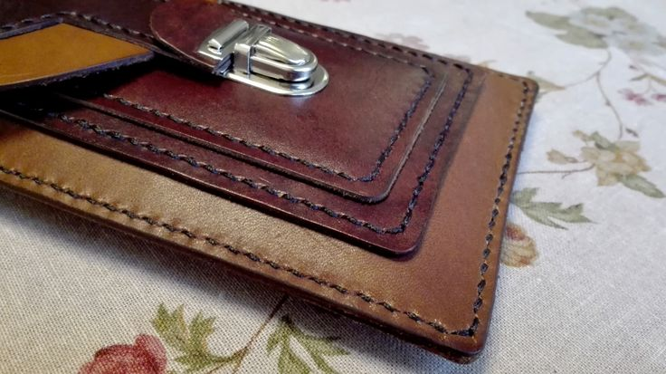 - Durable Cowhide - Card Pocket - Docs Pocket - Belt Loop - Neck Strap Loop