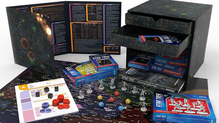 Get Assimilated With The Star Trek Adventures RPG Borg Cube Set
