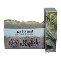 A Wild Soap Bar Horsemint - met mint en teatree - anti-bacteriele werking - ook voor acne huid