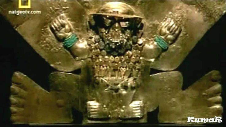 Siglo III en Sipán en el noroeste del Perú un poderoso gobernante mochica ha muerto el fasto funerario están marcado, por el dolor de su pueblo, ha sido emba...