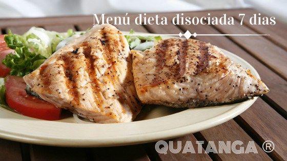 Menu dieta disociada 7 dias