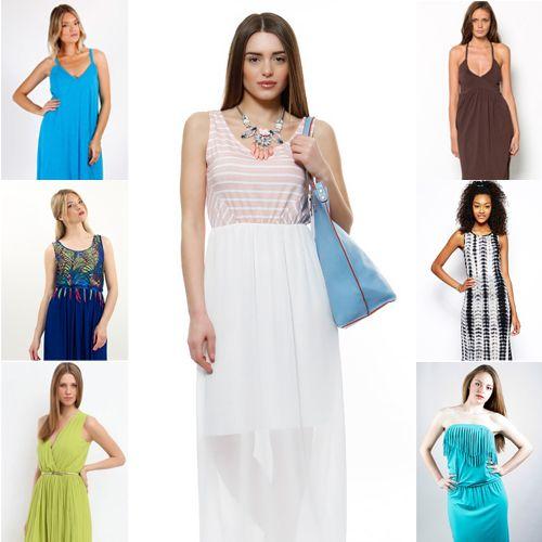Τα 10 πιο εντυπωσιακά μακριά φορέματα κάτω από 50 ευρώ #dresses_under_50_euro #womenfashion #womenstyle