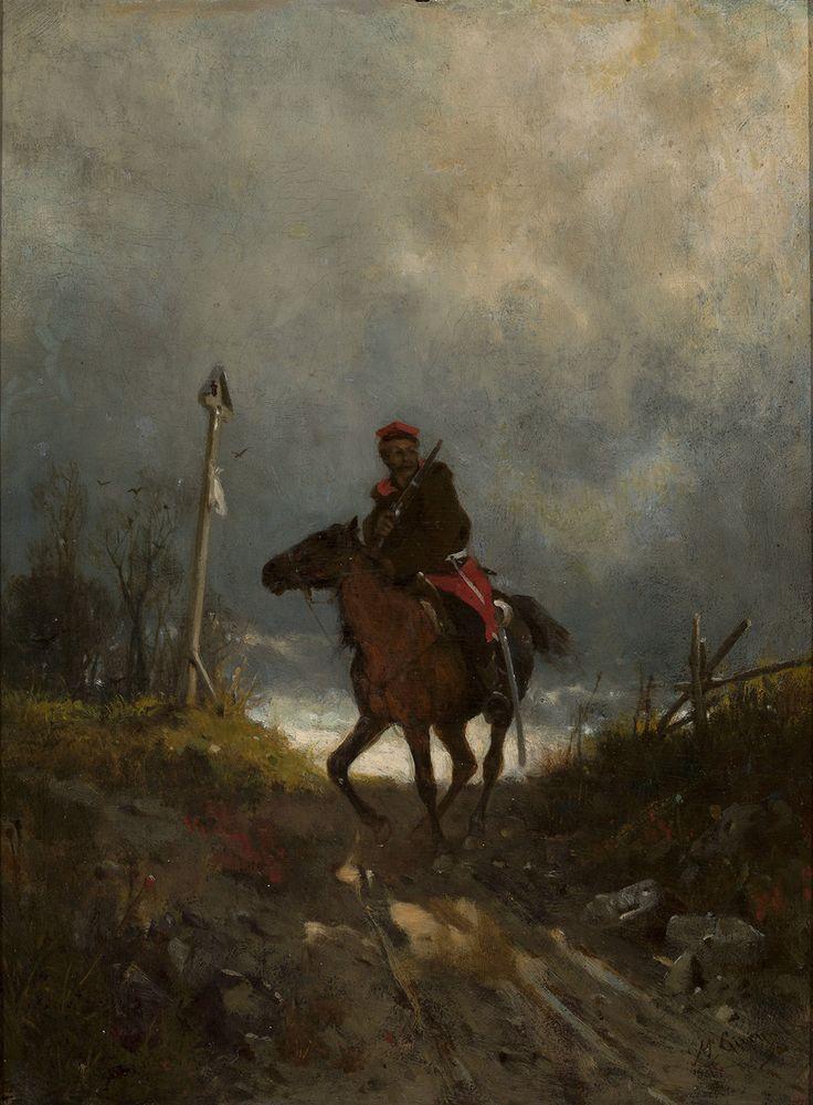 Maksymilian Gierymski Powstaniec z 1863 roku, 1869