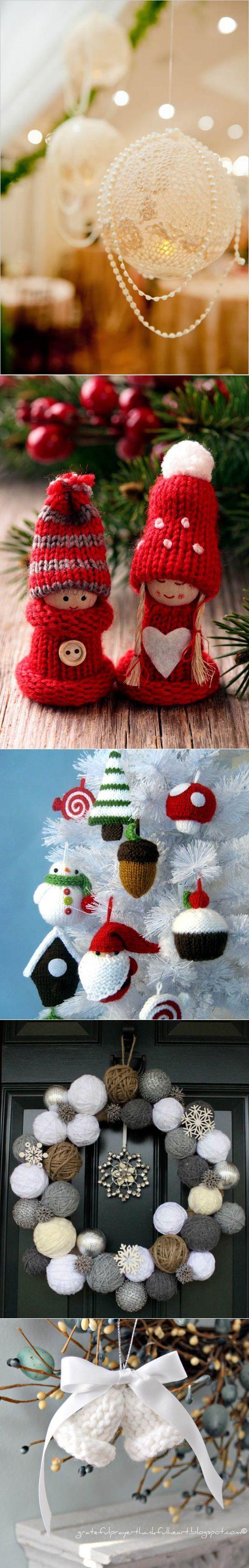 Новогодний декор – вязаные украшения своими руками | Новый год и Рождество | Постила