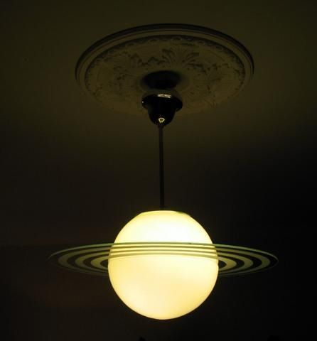 Saturn lamp | Let there be light | Pinterest | Lights, Bedrooms ...