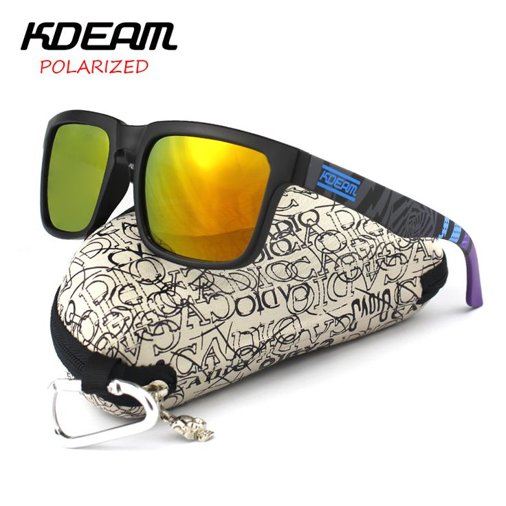 $9.49 (Buy here: https://alitems.com/g/1e8d114494ebda23ff8b16525dc3e8/?i=5&ulp=https%3A%2F%2Fwww.aliexpress.com%2Fitem%2FKDEAM-Polarized-Sunglasses-Men-Sport-Sun-Glasses-Polaroid-lens-Women-Brand-Designer-Square-eyewear-With-case%2F32734693741.html ) KDEAM Polarized Sunglasses Men Sport  Sun Glasses Polaroid lens Women Brand Designer Square eyewear With case KD901P for just $9.49