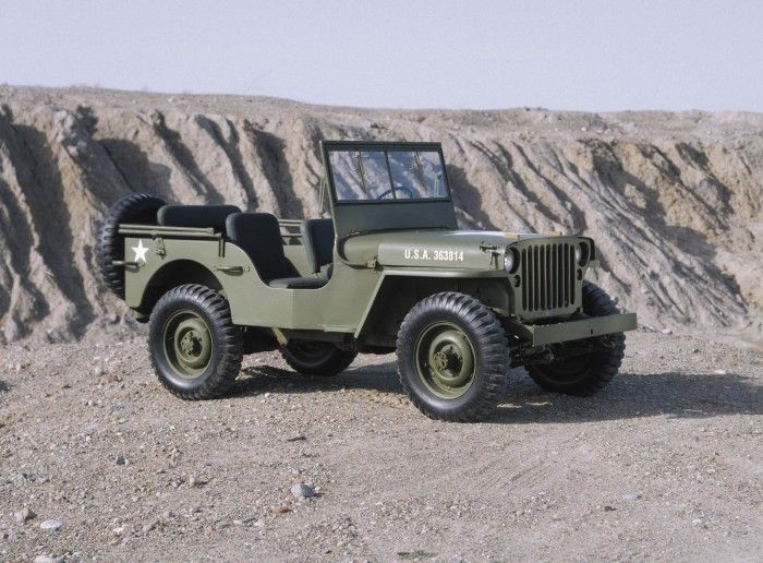 The Go Anywhere. Do Anything. Jeep Willys MB