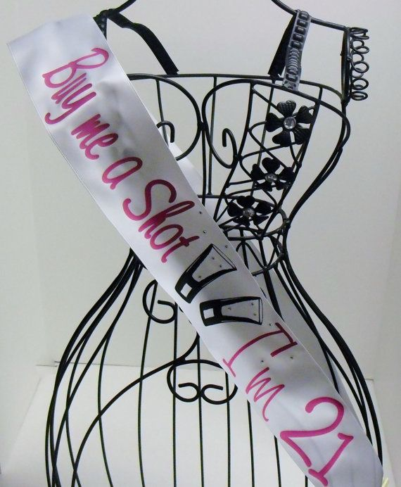 Hey, I found this really awesome Etsy listing at https://www.etsy.com/listing/183422694/personalized-birthday-sash-im-21