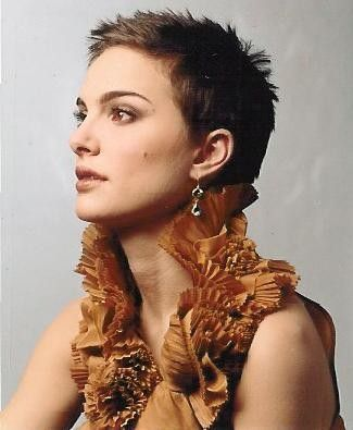 buzz cut haircuts natalie portman pixie cut hair pixie cut 4108