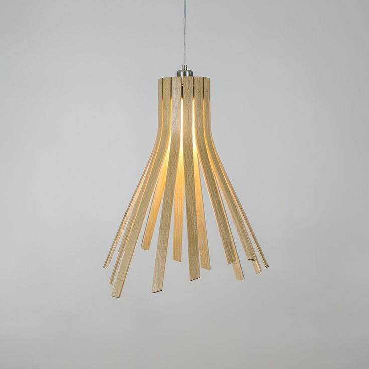 The brand new Flux Light from Tom Raffield http://www.tomraffield.com/products/ceiling-lights/flux-light.php