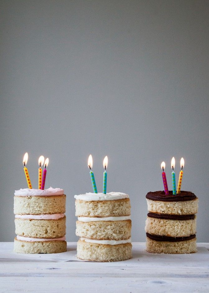 Neapolitan Mini Cakes |
