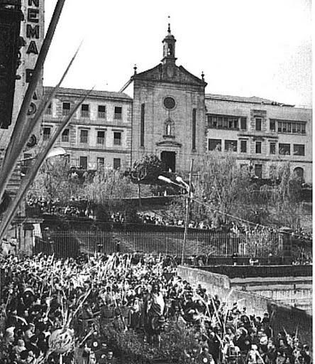 Vigo, ciudad olívica. Fotos antiguas. Colegio de La Enseñanza