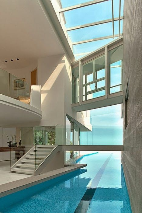Modern Architecture. - Modern Pool Idea.