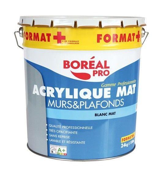Boreal Peinture Acrylique Mur Et Plafond 20 4 Kg