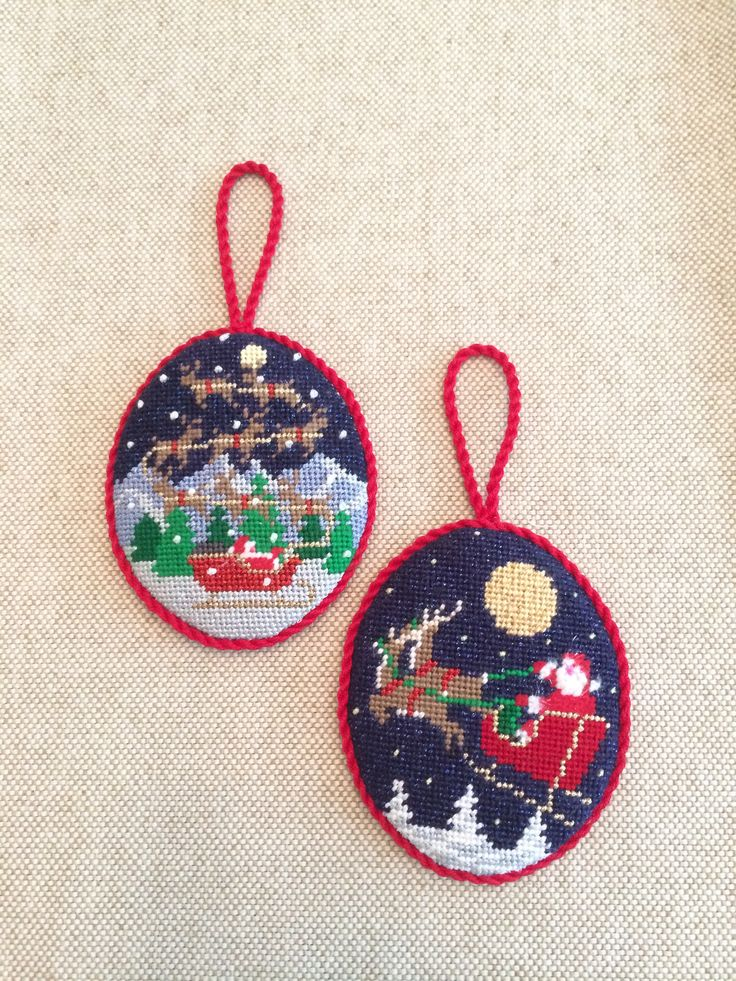 17 Best Images About Needlepoint Ornaments On Pinterest