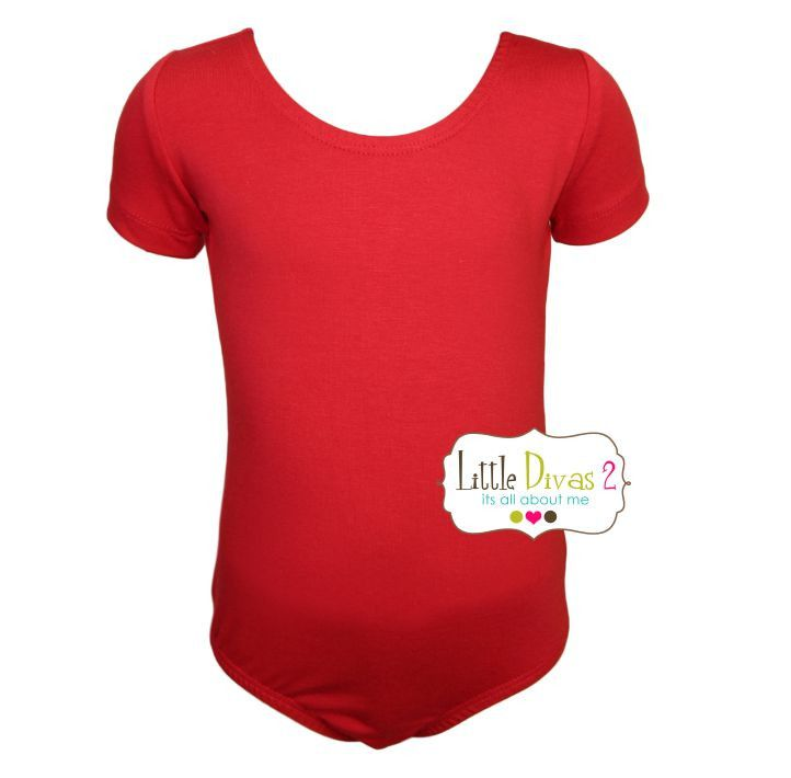 RED LEOTARD (Child) Short Sleeve