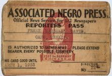 Associated Negro Press founded | African American Registry The ANP was the oldest and largest Black press service in the United States.