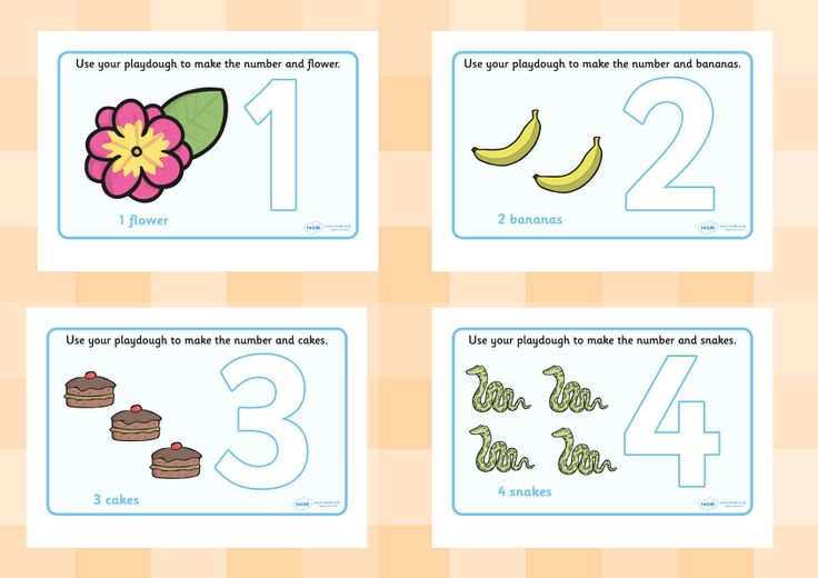Twinkl Resources >> Number Playdough Mats 1-10 >> Printable resources for Primary, EYFS, KS1 and SEN.  Thousands of classroom displays and teaching aids! Numeracy, Maths, Playdough, Numbers, Activities