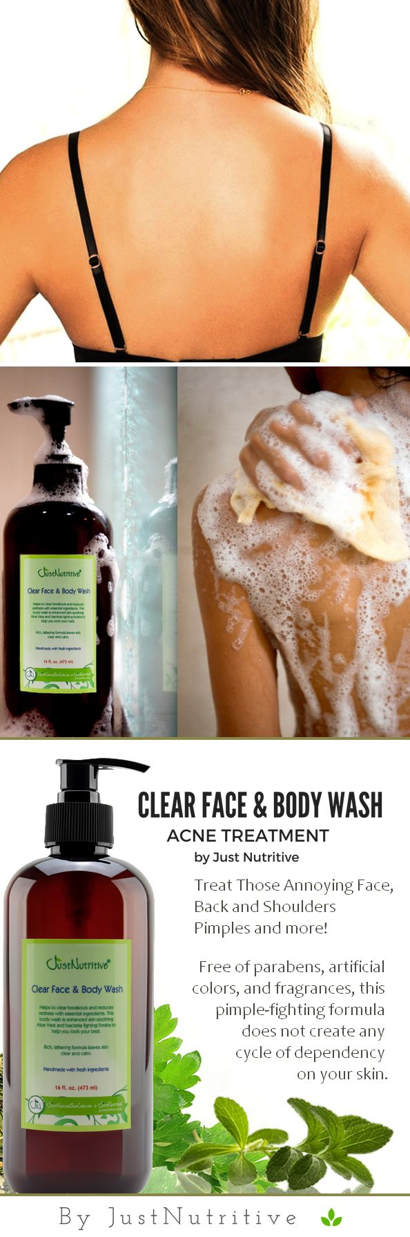 This face and body wash is the safest and most potent formula for helping and renewing breakout prone skin to transform it into beautiful, healthy and clear skin without any side effects.