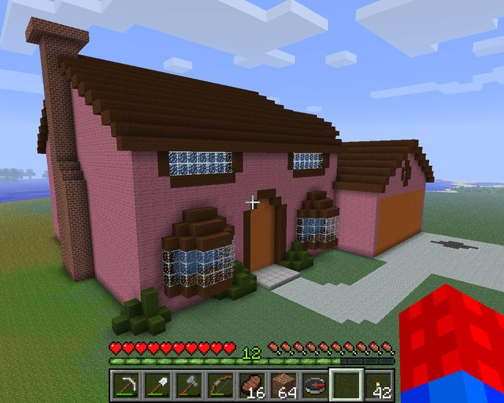 how to build a bar in minecraft