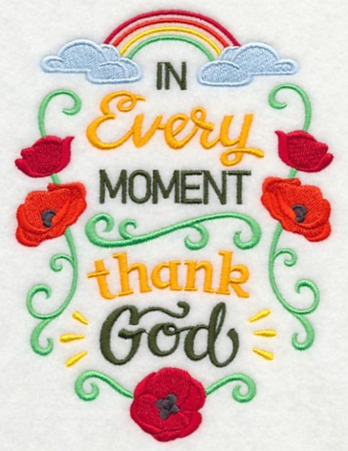 Thank God Kitchen Hand Towel, Christian Kitchen Tea Towel, Kitchen Hand  Towel, Faith · Machine Embroidery ... Part 83