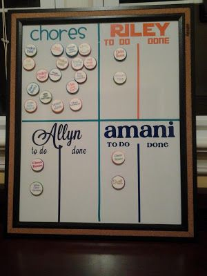 love this!!!  The Best Chore Chart Strategy Ever