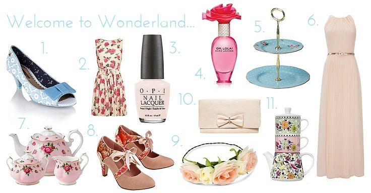 Fashion | Wonderland at Debenhams - Alice in Wonderland Inspired Style