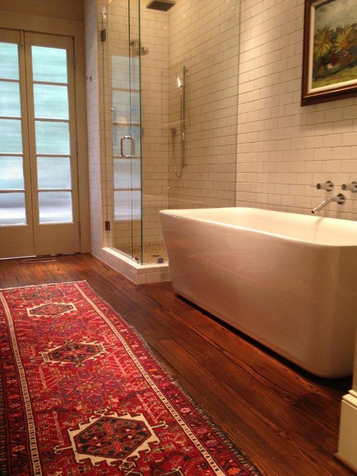 1000 id es sur le th me tapis de salle de bain sur - Tapis de salle de bain rouge ...