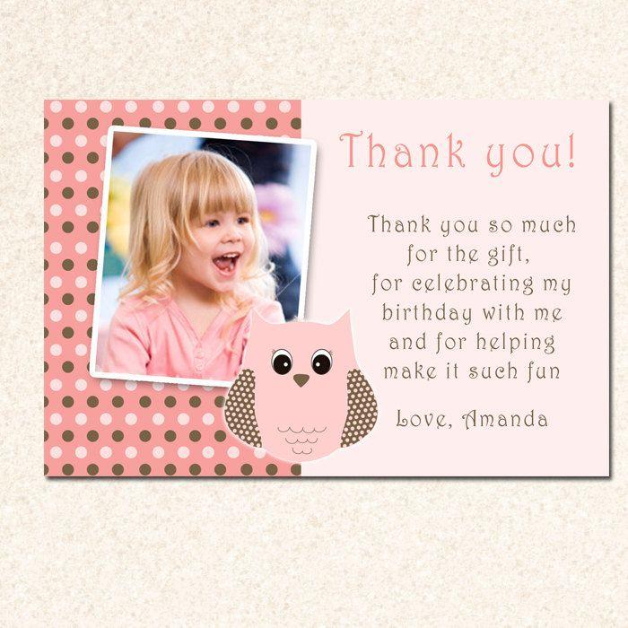 birthday thank you cards wording shower picsshower ideasbaby