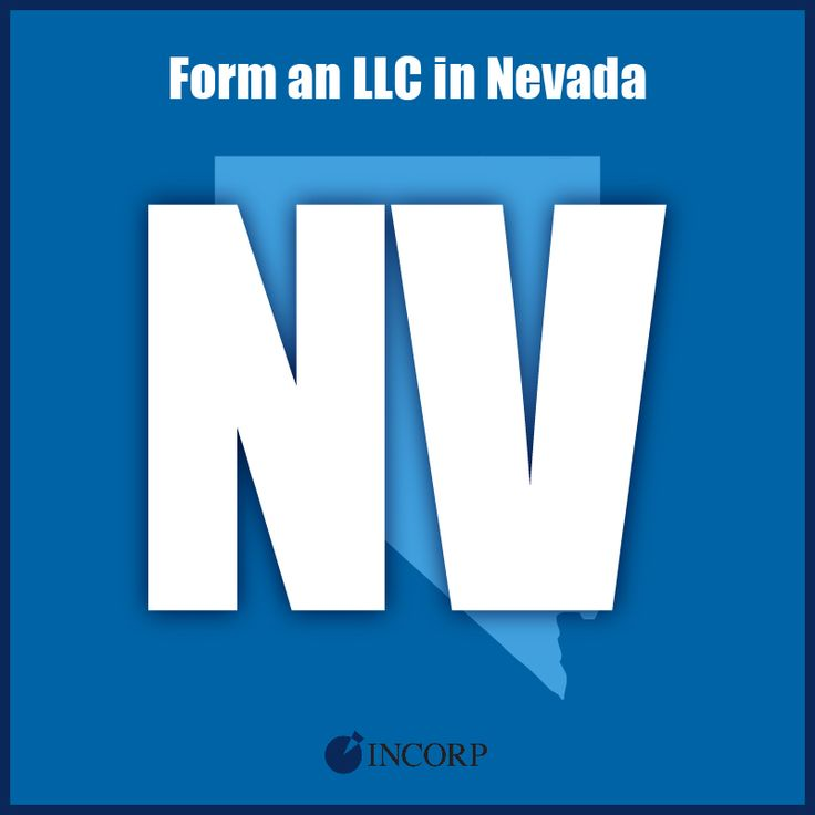 Form An Llc In Nevada Limited Liability Company Business Advice Start Up Business