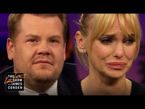 Anna Faris and Joshua Jackson Give James Corden Crying Lessons on The Late Late Show | E! Online