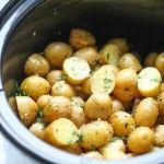 Permalink to: Slow Cooker Garlic Parmesan Potatoes