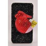 iPhone 4 /4S 3D Angry Birds İnci Taşlı Kapak  https://www.telefongiydir.com